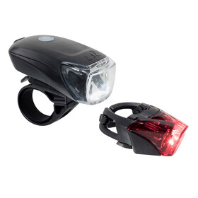 Cube RFR Tour 35 - Juego de luces para bicicleta - USB negro